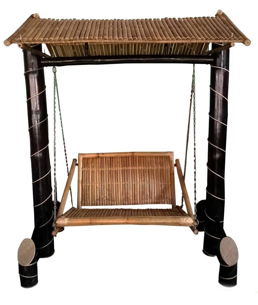 Bamboo Swinging Chair Jhoola(#905)-gallery-0
