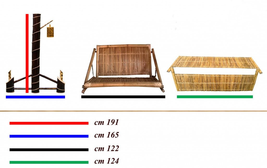 Bamboo Swinging Chair Jhoola(#905)-gallery-1