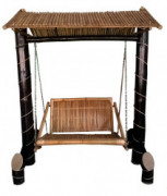 Bamboo Swinging Chair Jhoola(#905) - getkraft.com