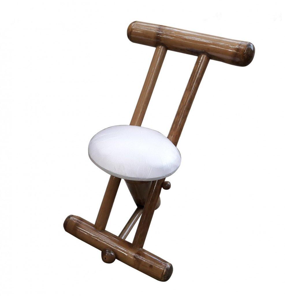 Stylish Outdoor Garden Lawn Backyard Bamboo Single Chair Furniture(#906)-gallery-0