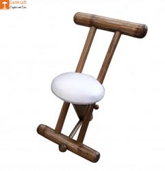 Stylish Outdoor Garden Lawn Backyard Bamboo Single Chair Furniture(#906) - getkraft.com