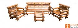 DB Bamboo Sofa Set with Table(#920) - getkraft.com