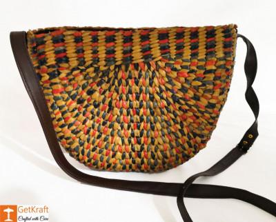 Straw Handbag BG060BYR(#921)-gallery-0