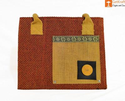 Jute Women Handbag (Multicolored)(#922)-gallery-0