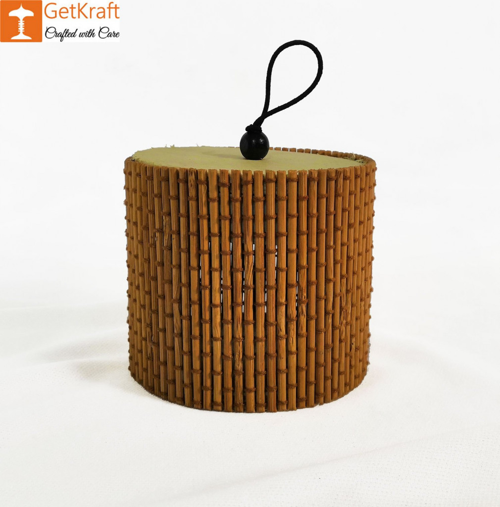 Bamboo Cylindrical Box(#927)-gallery-0