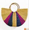 Natural Straw Stylish Multipurpose Bag(#949) - Getkraft.com