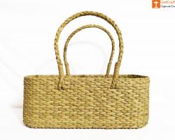 Kauna Water Reed Picnic cum Shopping Basket(#958) - getkraft.com