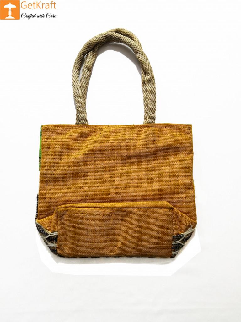 Jute Colored Handbag for Women(#959)-gallery-1