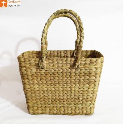 Natural Straw Handmade Bag(#982)-gallery-0