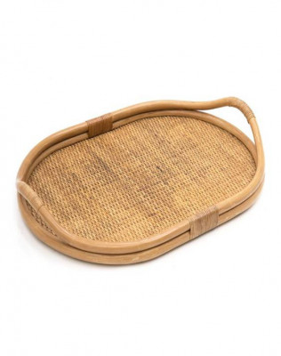 Rattan Serving Tray for Home Use(#988)-gallery-0