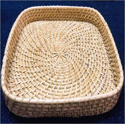 Rattan Serving Kitchen Tray(#992)-gallery-0