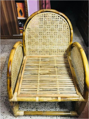 Cane Rattan Chair(#995)-gallery-0