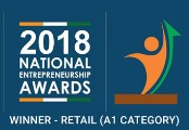 National Enterpreneurship Awards Winner 2018