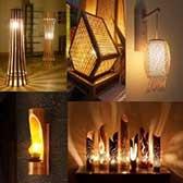 Decorative Natural Bamboo Lamps Category - getkraft.com