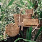 Straw Bags and Baskets Category - getkraft.com