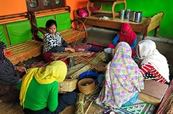 Women working in villages to attain a good livelihood and provide better quality products