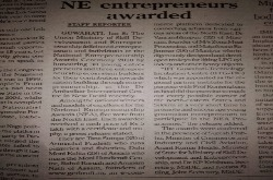 National Entrepreneurship Awards 2018 National English News Paper