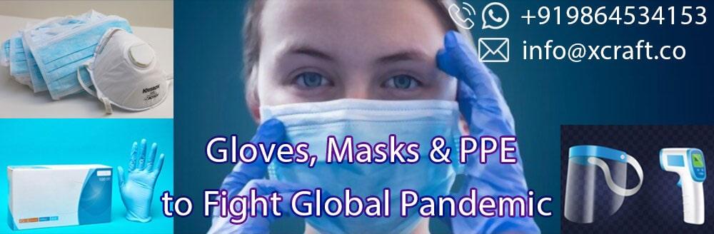 Nitrile Gloves, Masks Global Supplier