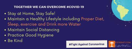 fight against covid-19 coronavirus - getkraft.com